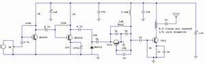 4 Transistor Transmitter Schematic