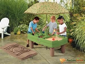 Table Enfant Exterieur : table d 39 activit en plastique pour enfants sable et eau ~ Melissatoandfro.com Idées de Décoration