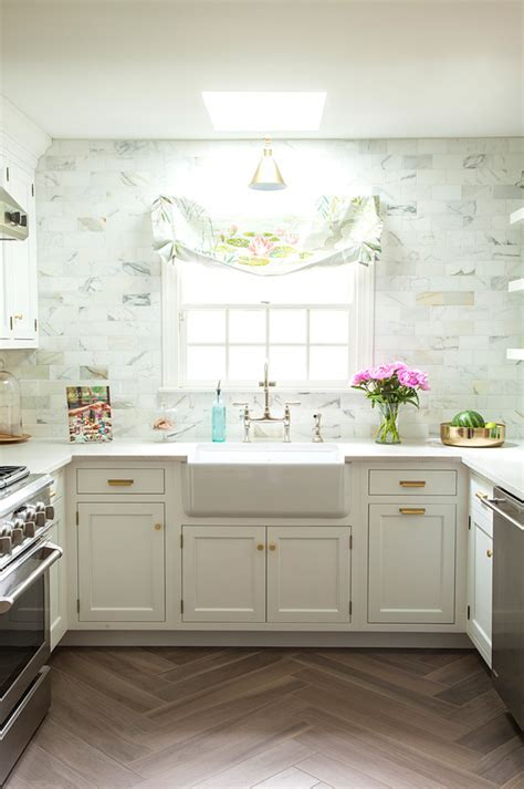 Vintage Inspired Kitchen With Glam And Rustic Touches