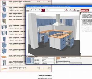 Plan De Cuisine Gratuit : plan de cuisine logiciel id e de mod le de cuisine ~ Melissatoandfro.com Idées de Décoration