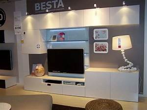 Meubles Besta Ikea : ikea besta tv meubel monteren en ophangen werkspot ~ Nature-et-papiers.com Idées de Décoration