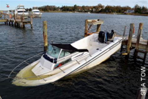 Soundings Boats For Sale by The Smart Buyer Purchasing A Damaged Boat