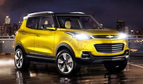 Chevrolet Adra Compact Suv Concept Debuts In Delhi