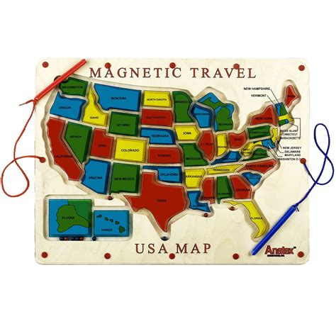 travel usa magnetic travel usa map