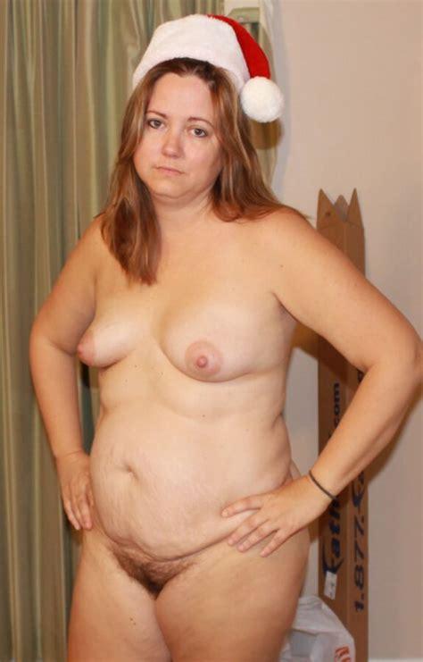 Horny Wife Says Merry Christmas Hope You Like Me Naked Mature Porn Photo