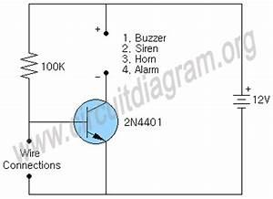 simple burglar alarm circuit diagram With circuit diagram besides simple door alarm circuit on wiring diagram