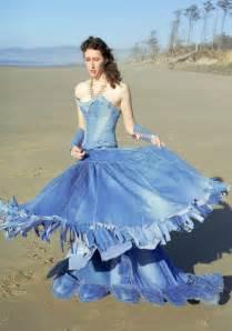 blue jean wedding unique blue jean top wedding dress wedding inspiration trends