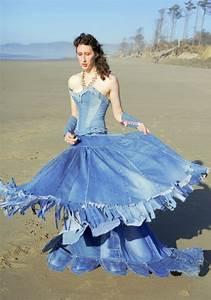 blue jean top wedding dress 1 wedding inspiration trends With jean wedding dress