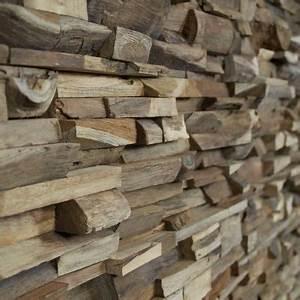 Parement Bois Mural : panneau mural rev tement mural parement 3d en bois ~ Premium-room.com Idées de Décoration
