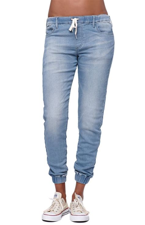 104 best images about denim jogger outfits on Pinterest | Skinny chinos Joggers and Pants