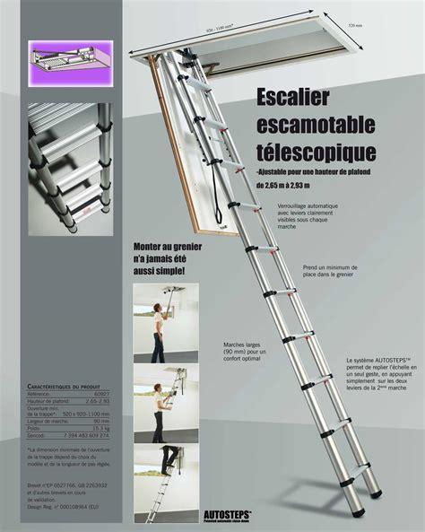 Escalier Escamotable Isolé Brico Depot by Les 233 Chelles T 233 Lescopiques De Grenier 224 Marches Plates Et