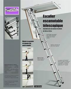 Escalier Escamotable Grenier : echelle comble mes combles ~ Melissatoandfro.com Idées de Décoration