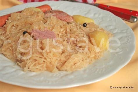 comment cuisiner la choucroute crue comment cuire viande choucroute