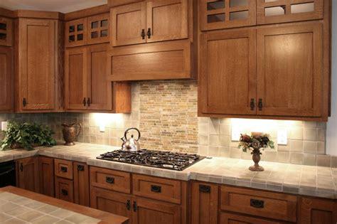 craftsman style mission style kitchen cabinets mission style kitchen cabinets