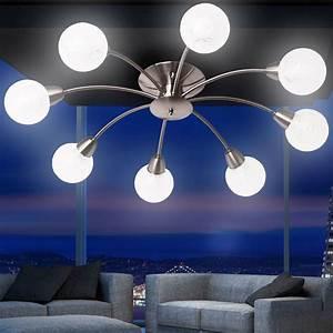 Wohnzimmer Deckenlampe : wohnzimmer deckenlampe deckenleuchte strahler lampe licht ~ Pilothousefishingboats.com Haus und Dekorationen