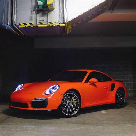 lava orange  turbo  replaces  gt rs  porsche