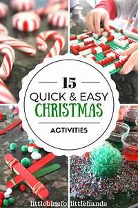 Easy Christmas Activities For Kid U0026 39 S Christmas Stem