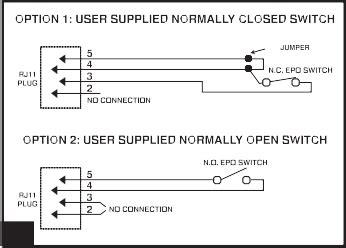 cabling normally closed emergency power ups wiring network engineering stack exchange