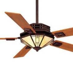 mission style ceiling fan with light 54 quot mission style ceiling fan in bronze patina with cherry