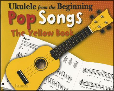 Keep you ukelele in perfect pitch anywhere, at anytime. Ukulele from the Beginning Pop Songs The Yellow Book Chord Melody Songbook   eBay