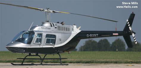 Gbxnt N123al N43ea N94ca Bell 206b3 Jet Ranger Cn 2398