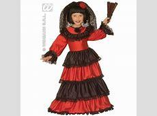 Spanish Girl Costume for Kids Fancy Dress SANC 55477