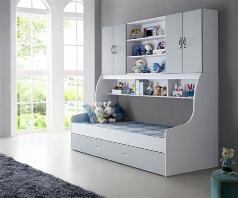 biblioth鑷ue chambre enfant lit ado avec rangement lit pour enfant