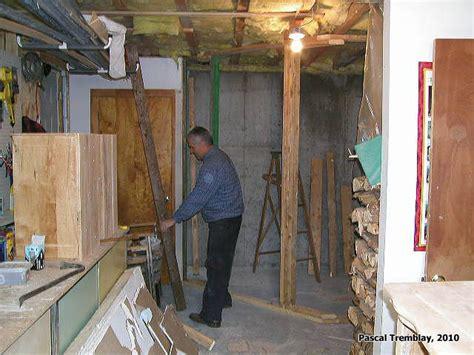 chambre froide construction construire une chambre froide au sous sol guide plan de