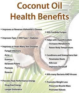 Coconut Oil Benefits Photos