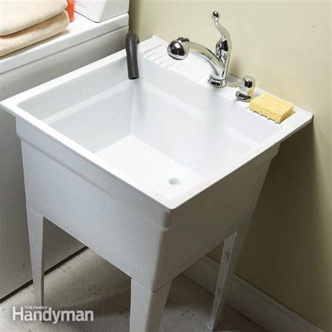 upgrade  laundry sink  family handyman