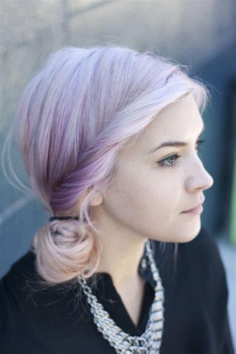 Pale Skin Pastel Hair Pretty Girl Pretty Hair Purple