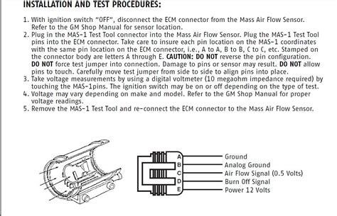 bosch maf sensor wiring diagram 31 wiring diagram images