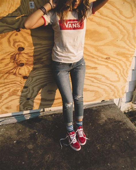 23 Awesome Summer Outfits With Vans Shoes - Styleoholic