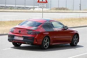 Mercedes Coupe C : spyshots 2016 mercedes c class coupe almost undisguised ~ Melissatoandfro.com Idées de Décoration