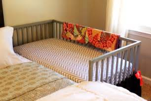 our diy co sleeping crib amanda medlin