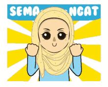 Muslimah Islami Gambar Bergerak Animasi Sarjana Pesantren