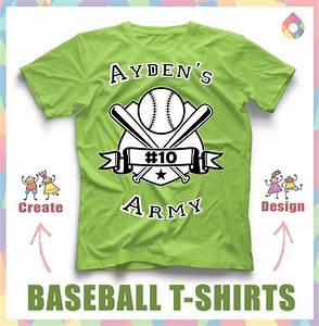 17 best images about baseball softball t shirts on With baseball shirt designs template