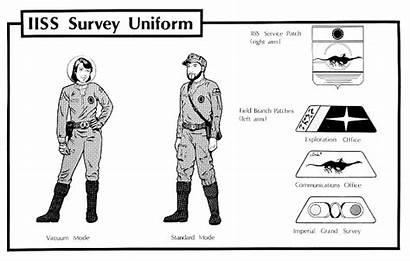 Traveller Scout Rpg Uniform Gurps Iiss Survey