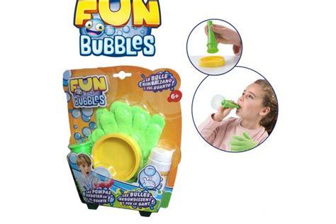 cuisine bulle gant magique bulles savon jouet à souffler