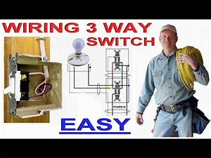 3 Way Switch Wiring Made Easy  Applies To 4