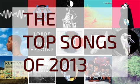 The Top Songs Of 2013  The Daily Soundtrack