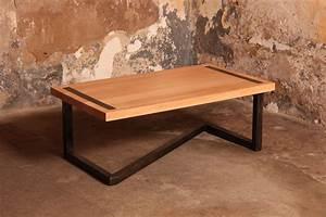 Table Bois Massif Design : table bois massif ~ Teatrodelosmanantiales.com Idées de Décoration