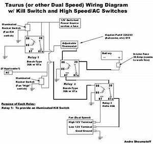 Another  And Correct  Way To Wire Taurus Fan