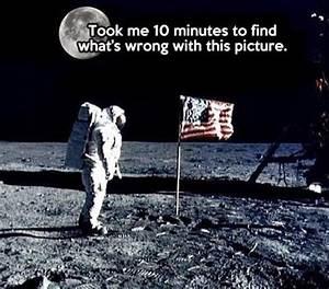 Lunar Landing Moon Conspiracies ~ Funny Joke Pictures