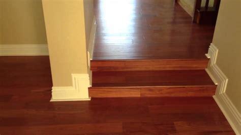Brazilian Cherry Wood Flooring     Orange