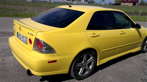 lexus yellow yellow lexus is300 pl youtube