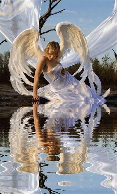 Angel Angels Gifs Amor Fallen Plaisir Passion
