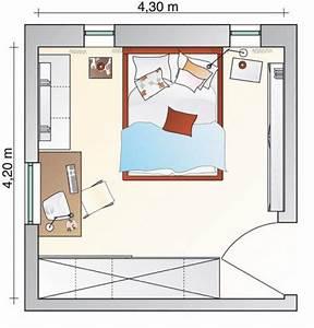 Kleines Schlafzimmer Einrichten Grundriss : beengtes schlafzimmer bekommt neuen freiraum sch ner wohnen ~ Markanthonyermac.com Haus und Dekorationen