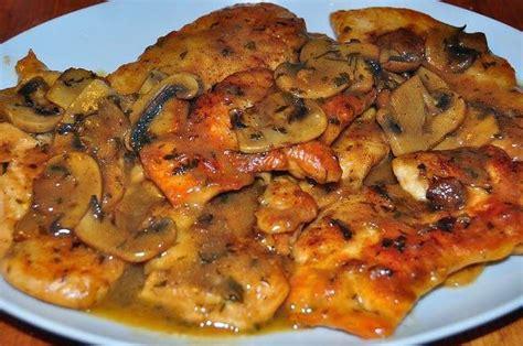 cuisiner italien 1000 idées à propos de recettes de marsala au poulet sur