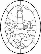 Lighthouse Coloring Pages Western sketch template